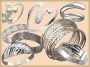 Кольца без камней