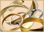 Обручальные кольца гладкие